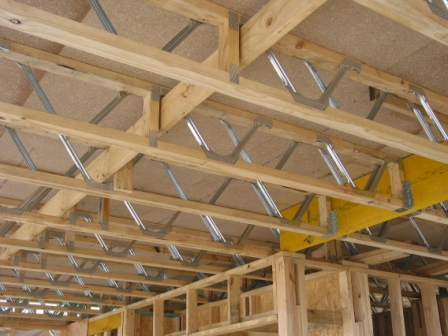 Roof trusses wall frames and floor trusses floor trusses for I joist vs floor truss