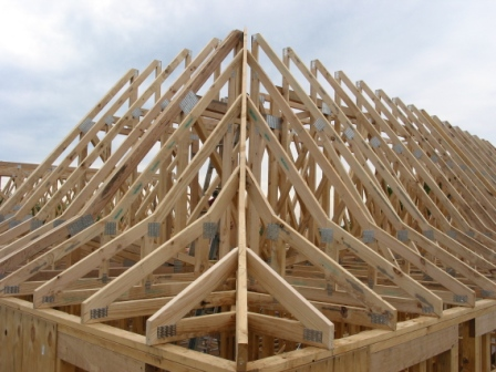Roof Trusses Wall Frames And Floor Trusses Roof Trusses