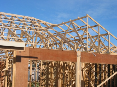 Roof trusses wall frames and floor trusses roof trusses for Manufactured trusses prices