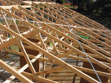 Prefabricated truss for Prefabricated wood trusses